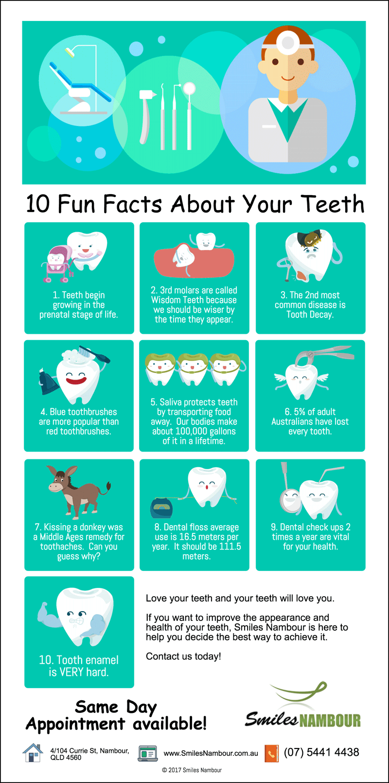 10 fun facts about your teeth